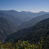 Scenic view of mountain range, Kaluk, West Sikkim, India