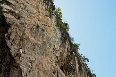 Rock Climbing, Ha Long Bay, Vietnam, Adventure Travel