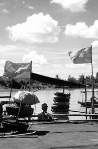 Hoi An, Vietnam, B&W
