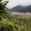 Scenic view of river, River Mekong, Laos