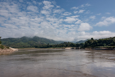 Clouds over the River Mekong, Sainyabuli Province, Laos