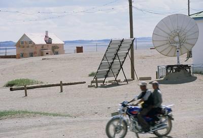 Bayan Leg. Rural town. mongolia.