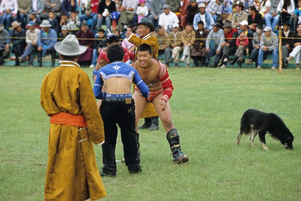 Naadam Khar Khorin. wrestlers. mongolia