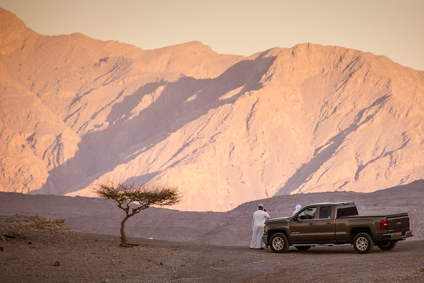 Omani Sun Set