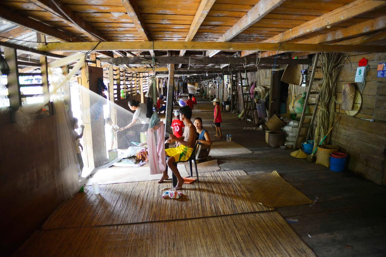 Ngemah Ulu longhouse