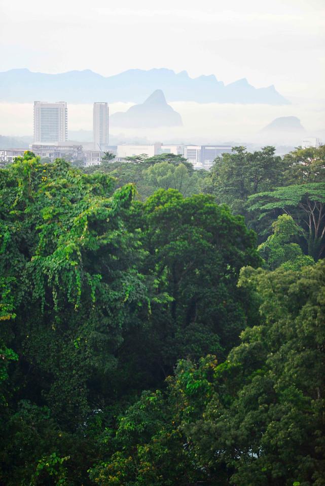 Kuching skyline