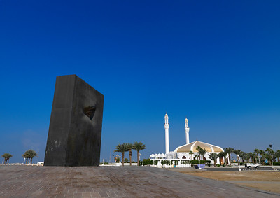 Saudi Arabia, Mecca Region, Jeddah, Modern Art On The Corniche