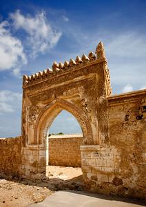 Saudi Arabia, Jizan Province, Farasan Island, Ottoman Old Gate