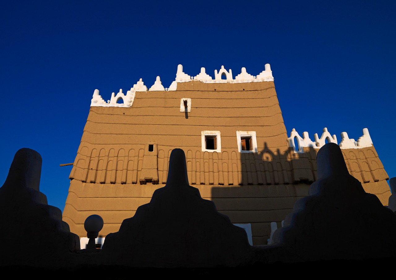 Saudi Arabia, Asir, Najran, Mud Fort
