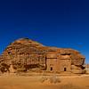 Saudi Arabia, Al Madinah Region, Al Ula, Nabatean Tomb In Madain Saleh Archaeologic Site