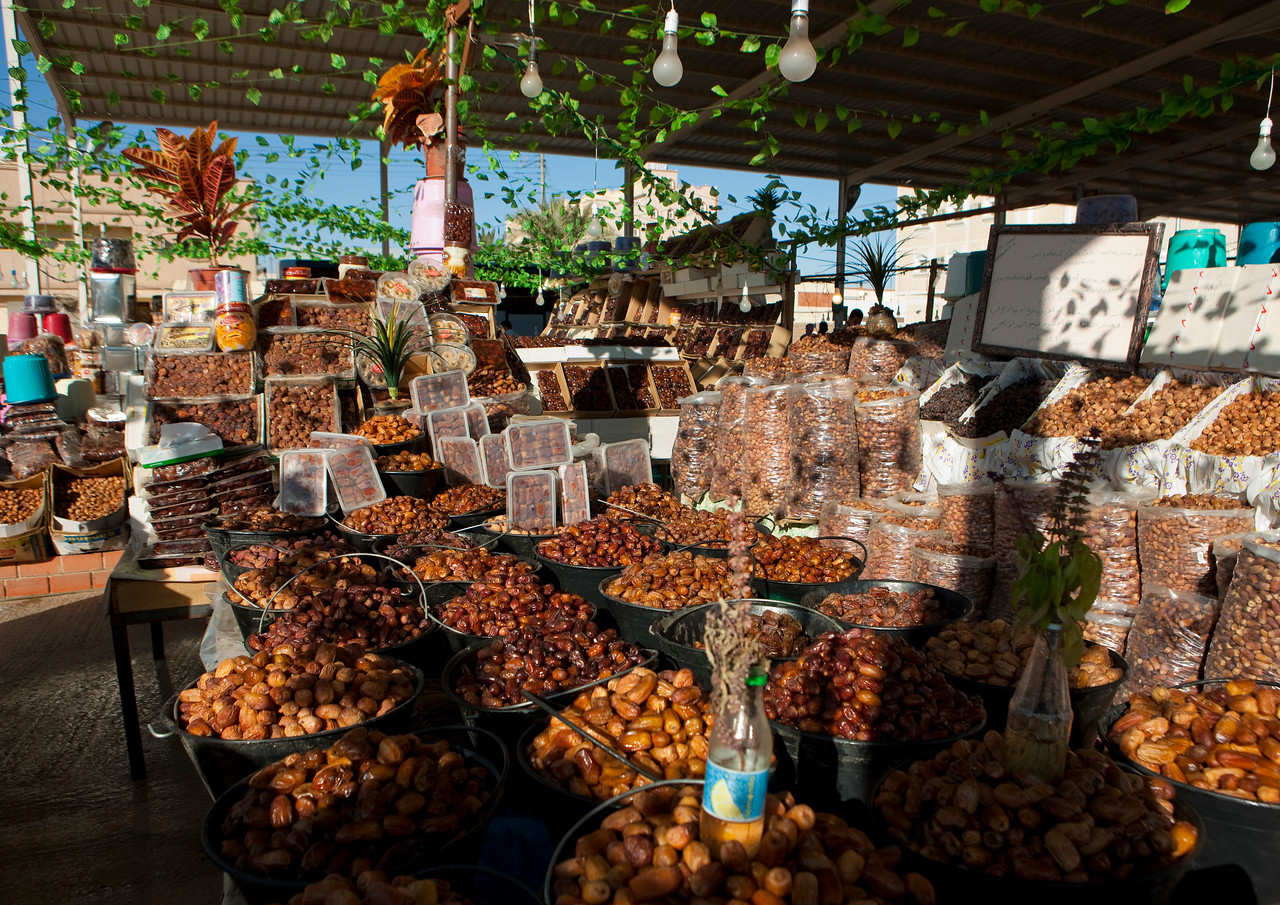 Saudi Arabia, Al Jawf Province, Sakakah, Dates Market