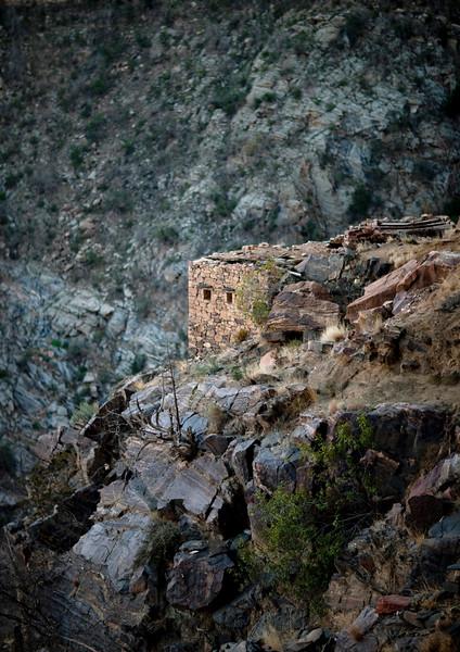 Saudi Arabia, Asir, Rijal Alma, Hills Near The Yemeni Border