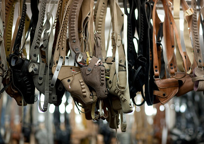 Saudi Arabia, Asir, Najran, Holsters For Sale In Souk