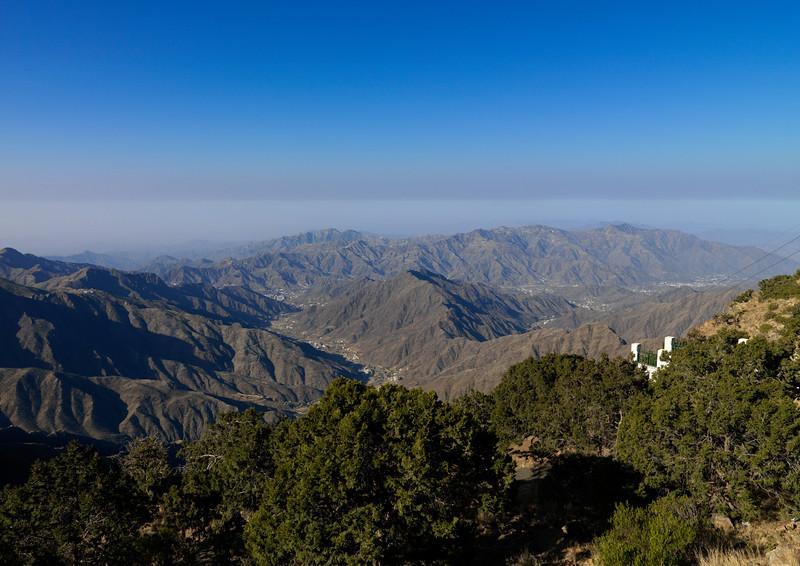 Saudi Arabia, Asir, Rijal Alma, Mountain