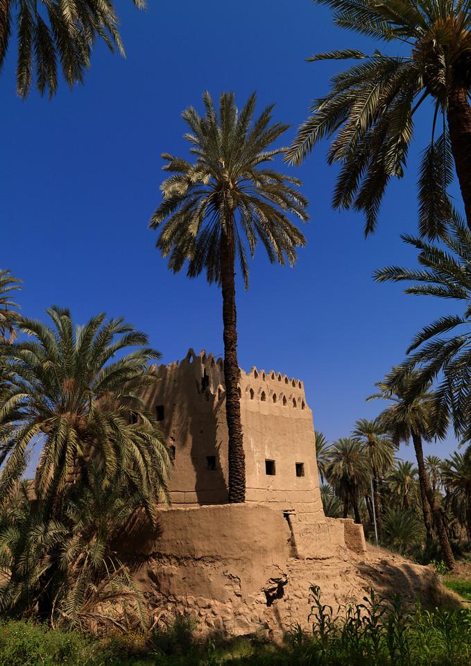 Saudi Arabia, Asir, Najran, Adobe Traditional House