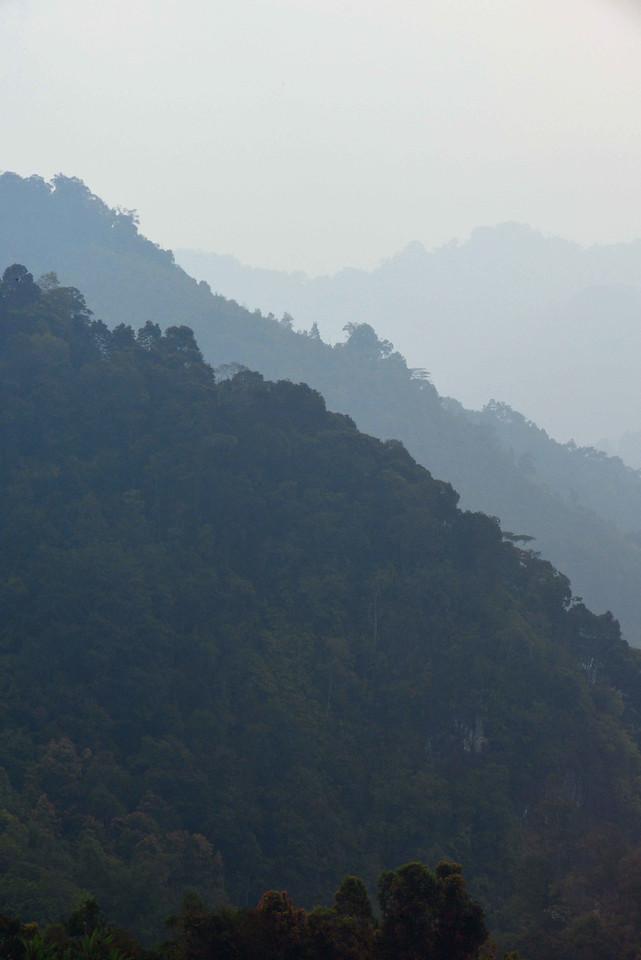 Kerinci mountains