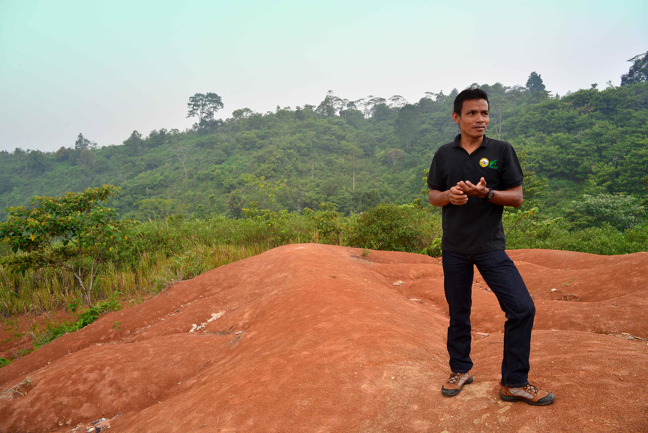 'Tiger Team' patrolman Jayendri