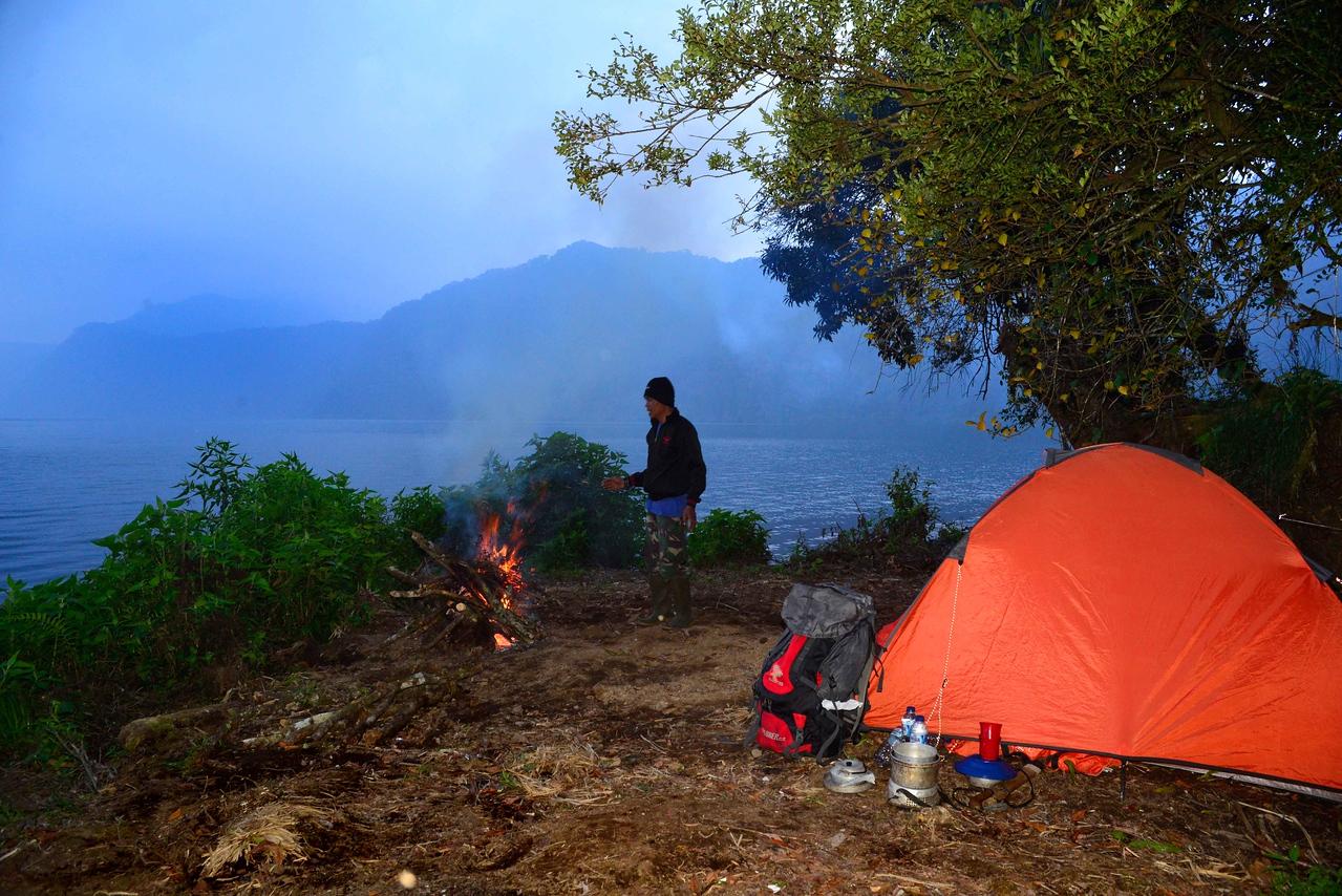 Gunung Tujuh camping