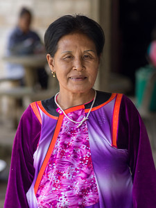 Portrait of senior woman, Chiang Rai, Thailand