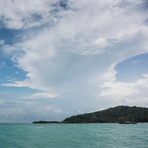 Clouds over sea, Koh Samui, Surat Thani Province, Thailand