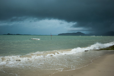 Storm clouds over the sea, Koh Samui, Surat Thani Province, Thailand