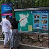 Couple checking tourist map on board, Koh Samui, Surat Thani Province, Thailand