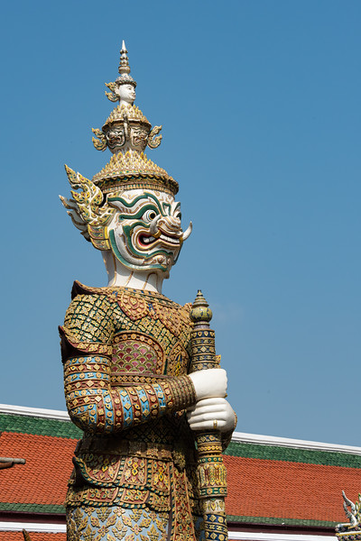 Guardian Near the Grand Palace, Bangkok