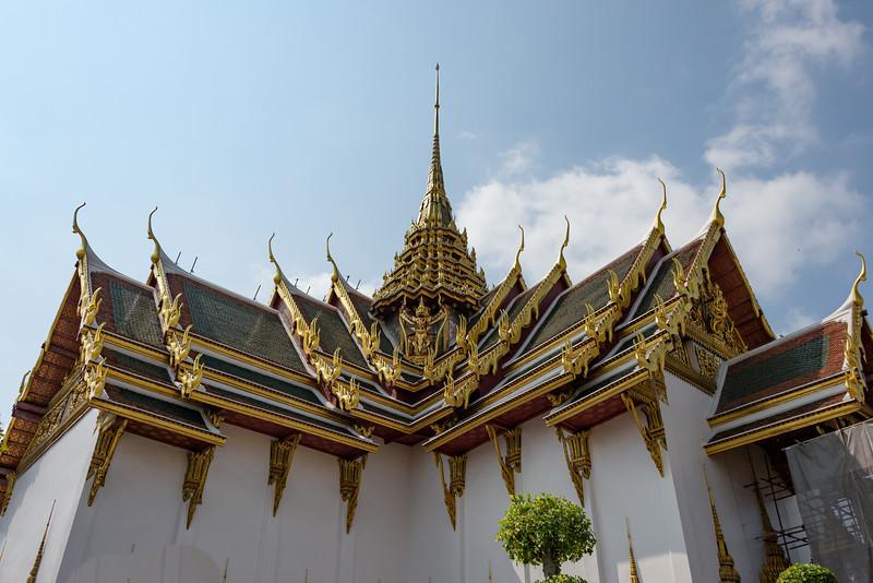 Dusit Maha Prasat Palace, Grand Palace Complex, Bangkok