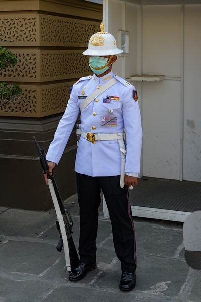 Royal Guard, Grand Palace, Bangkok