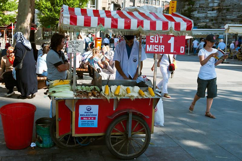 Grilled Corn - Street Food Near Spice Market