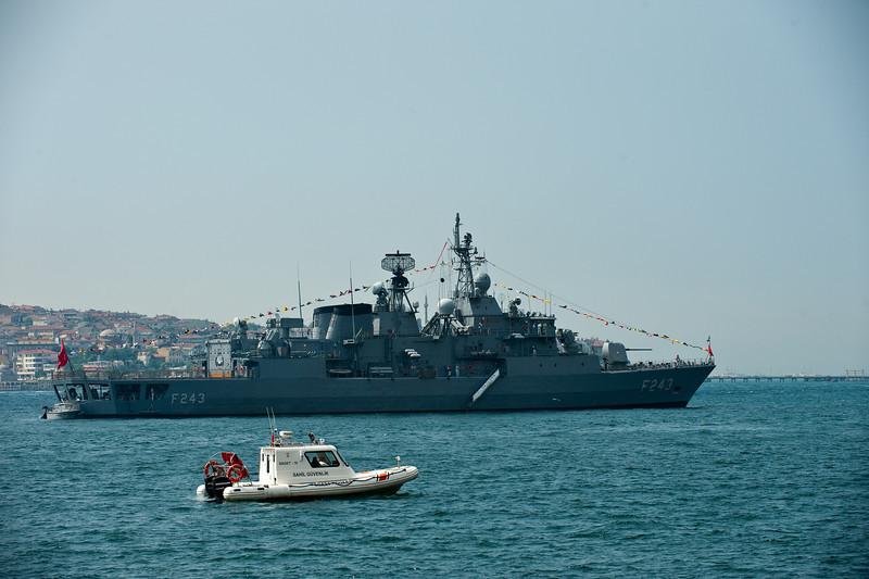 Turkey Naval Ship