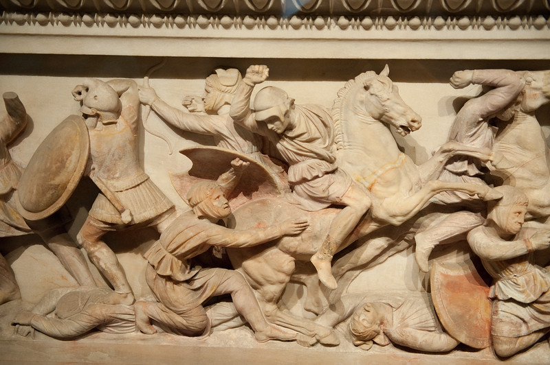 Alexander Sarcophagus - circa 4th Century BCE