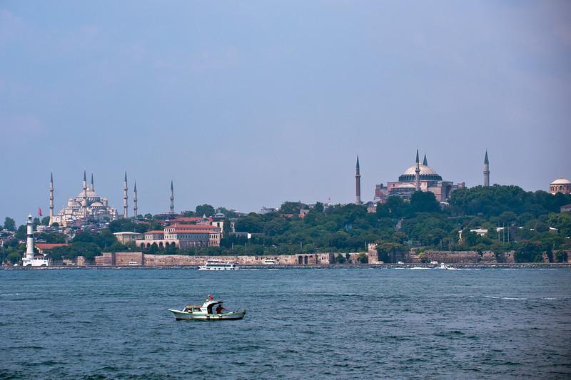 Hagia Sophia and Blue Mosque