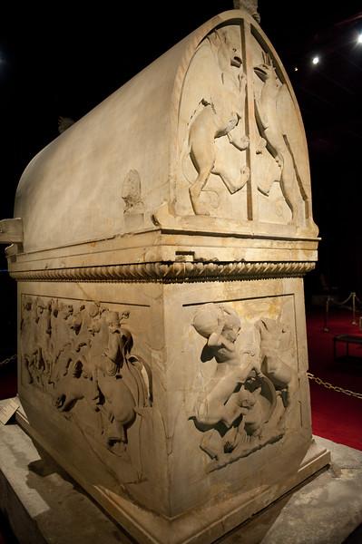 Lycian Sarcophagus - circa ~400's BCE