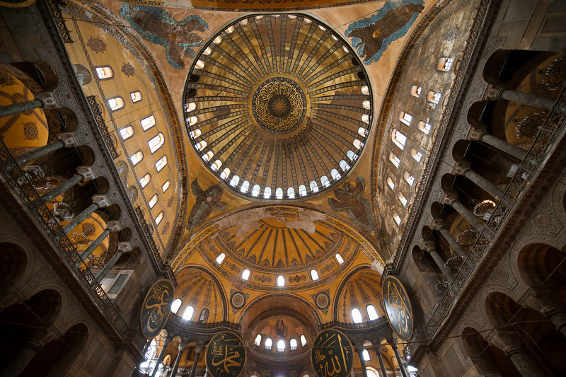 Dome of Hagia Sophia - For 1000 Years the Greatest in the World
