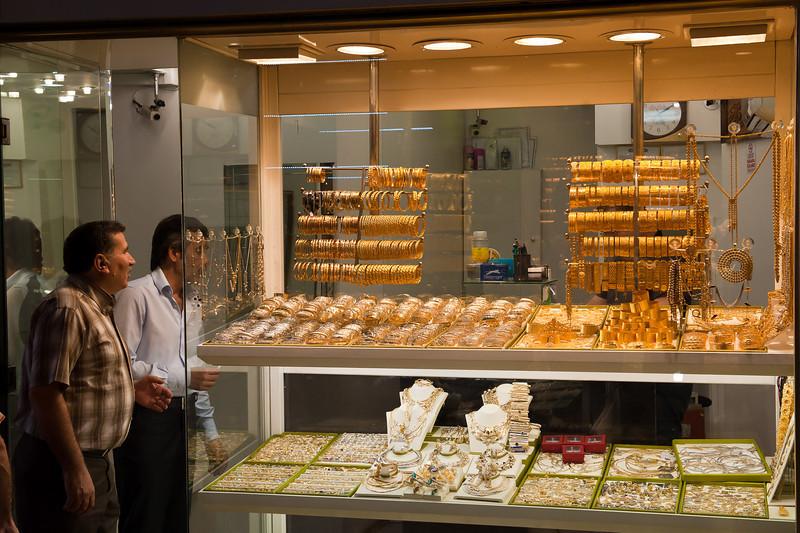 Gold Shop in the Grand Bazaar