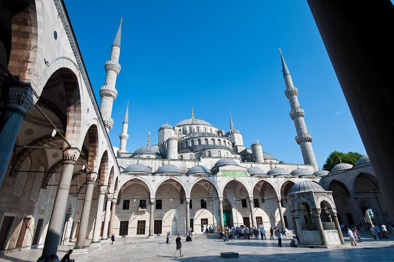 Blue Mosque - Circa 1616 by Sultan Ahmet
