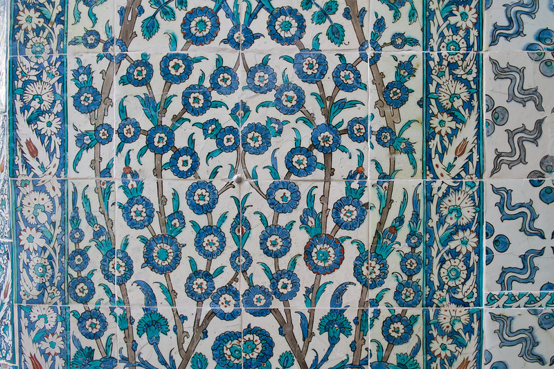 Iznik Tiles in the Womens Quarter