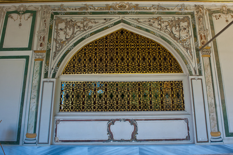 Window Cover on the Harem