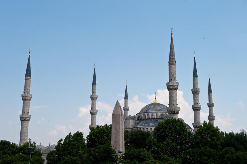 Blue Mosque &  Egyptian Obelisk