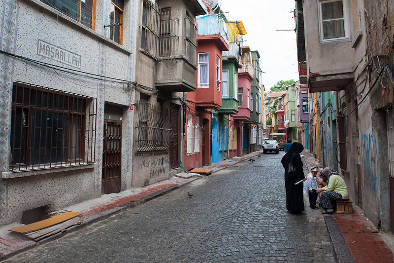 Fener Neighborhood Street