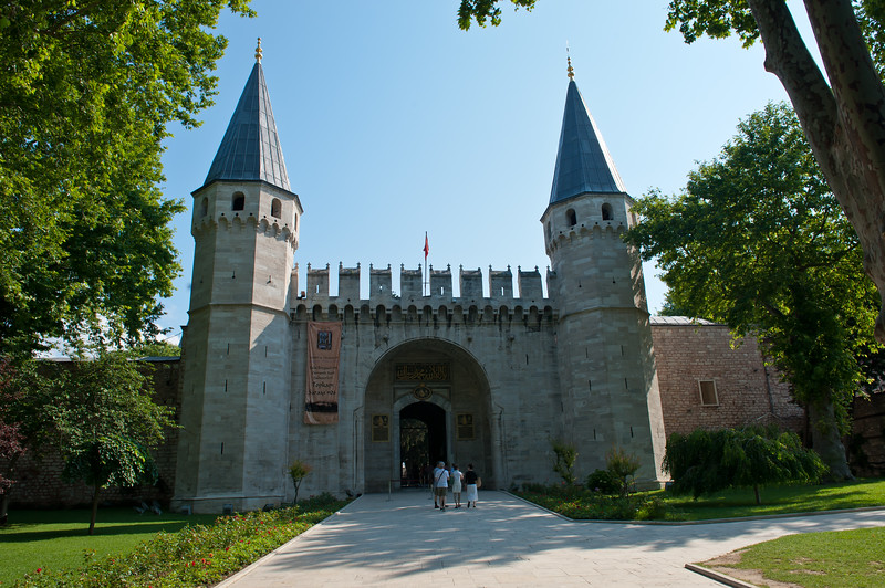 Gate of Salutations or Middle Gate -Topkapi Palace - Circa 1524
