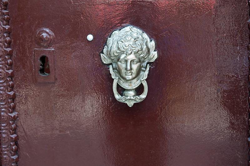 A Door Knocker in Kadikoy