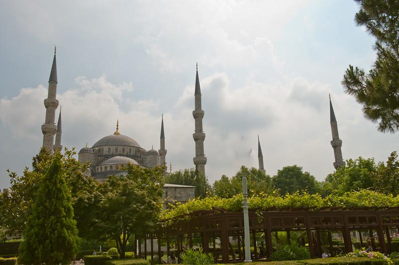 Blue Mosque - Six Minarets