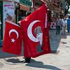 Turkish Flag in Kadikoy