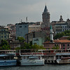 Galata Tower from the Cruise Boat