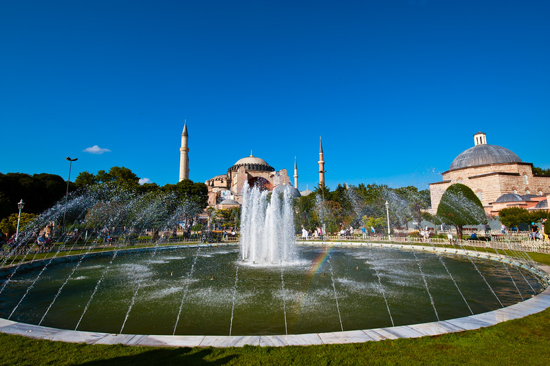 Hagia Sophia Museum & Fountains