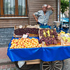 Street Vendor & His Fruit.