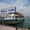 Our Cruise Boat Docking in Kadikoy Asia