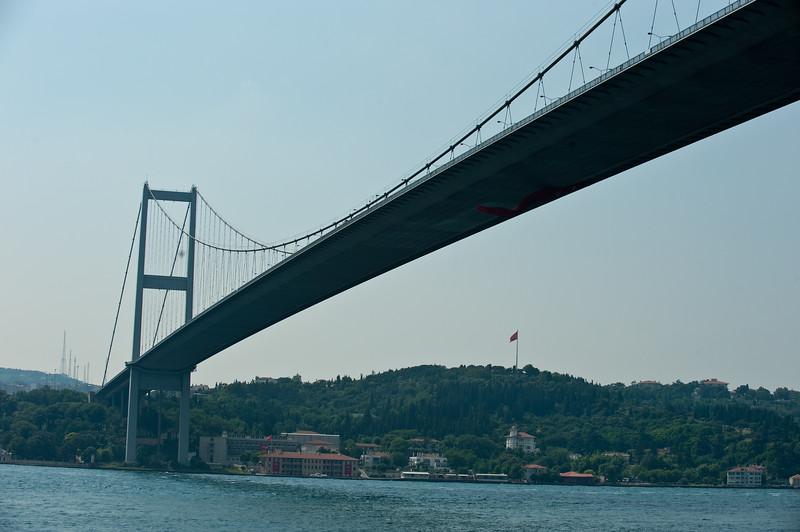 Bosphorus Bridge - Circa 1973